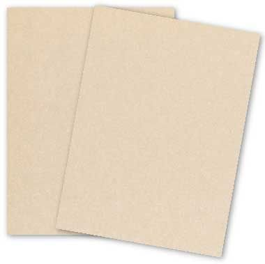 Metallic Soft Coral 11-x-17 Cardstock Paper 100-pk - PaperPapers 284 GSM (105lb Cover) Ledger Size Metallic Card Stock Paper - Business, Card Making, Designers, Professional and DIY Projects by Paper Papers (Image #1)