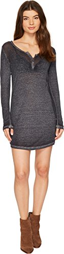 Obey Womens Dress - Obey Women's Alvarado Dress Steel Dress