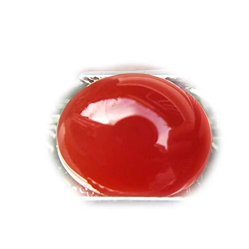 Lovemom 5.27ct Natural Cabochon Unheated Orange Chalcedony Africa #PU by Lovemom