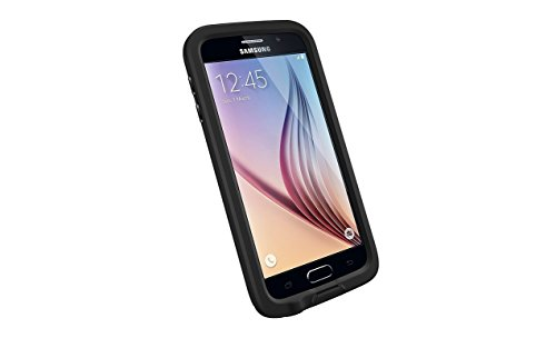 LifeProof 77-51242 Waterproof Case for Samsung Galaxy S6 - Retail Packaging - Black
