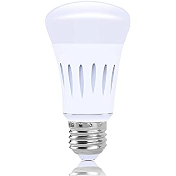 wifi smart led light bulb compatible with alexa google home ifttt smart home automation. Black Bedroom Furniture Sets. Home Design Ideas