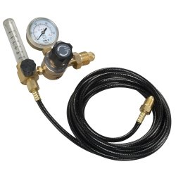 Mountain (MTNWEGR-2H) 2-Gauge CGA580 Welding Gas Regulator and 10' Hose