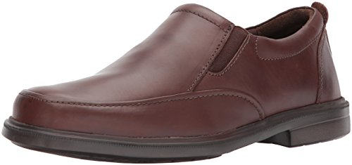 (Hush Puppies Men's Platon Hopper Slip-On Loafer, Dark Brown, 12 W US )