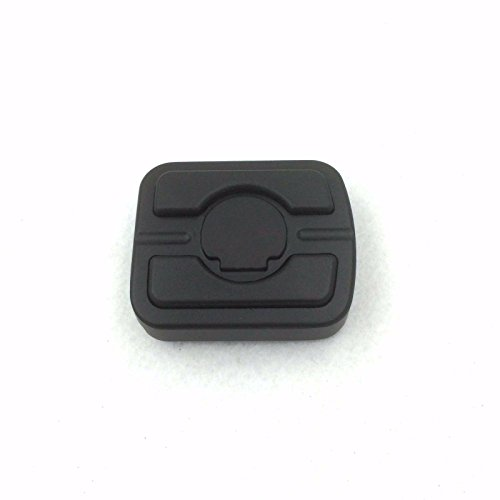 XKH MOTO Black Skull Small Brake Pedal Pad Fit '15-later XG/ '93-later Dyna/ '84-later FX Softail (except FXSTDSE) models equipped with forward controls -