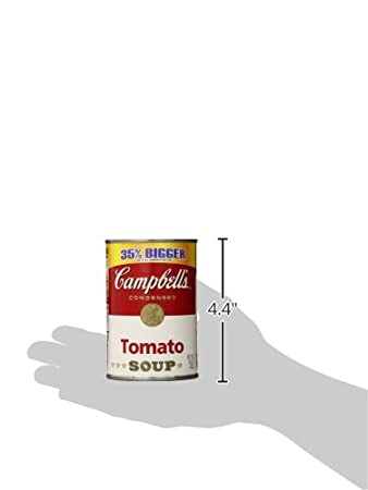 Amazon.com : Campbells Tomato Soup, 14.5 Ounce Cans (Pack of 12) : Packaged Tomato Soups : Grocery & Gourmet Food