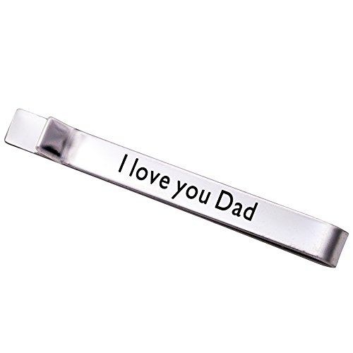 Melix Jewelry I Love You Dad (Grey) (Pro 4 Roll Hockey Gloves)