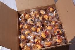 Golden Bowl Fortune Cookies, Vanilla Flavor, 350-Count Box Chocolate Dipped Fortune Cookies