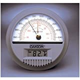 Wall Mount Barometer with Digital Thermometer - WD-03316-80 - EACH