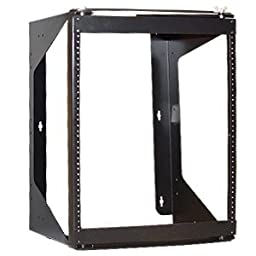 Brand New Icc Rack Wall Mount Swing Frame 12 Rms