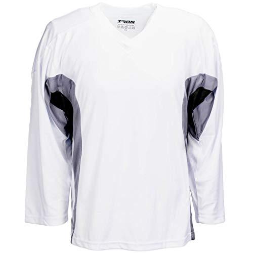 8162b49ea TronX DJ200 Team Hockey Practice Jersey (White Black Medium)