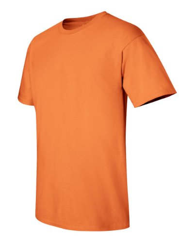 Joe's USA - 6.1 Ounce 100% Cotton T-Shirts. in 68 Colors Sizes S-5XL Tangerine