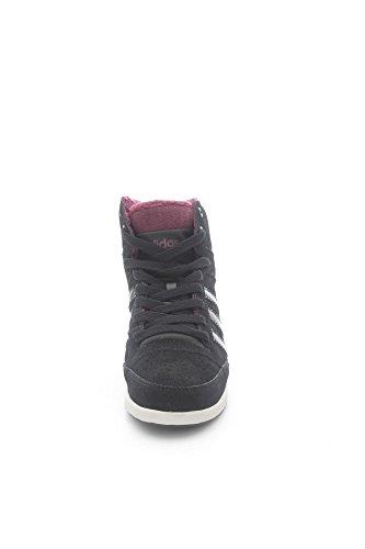 adidas Neo F98650 Sneakers Femme, Noir/Beige -