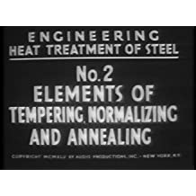 Heat Treatment of Steel: Elements of Tempering, Normalizing, and Annealing