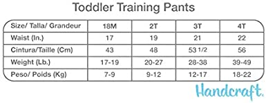 Baby Shark Handcraft Boys Toddler 7pk Potty Training Pant