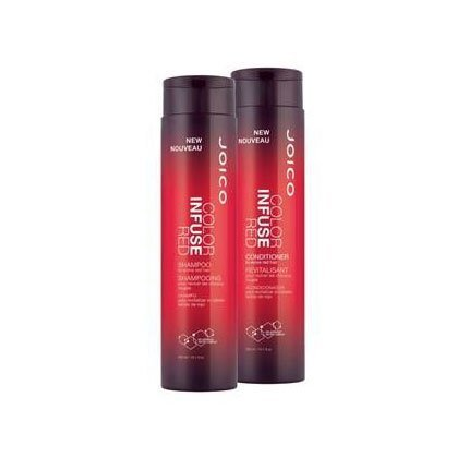 Joico New Color Infused Red Shampoo & Conditioner Holiday Du