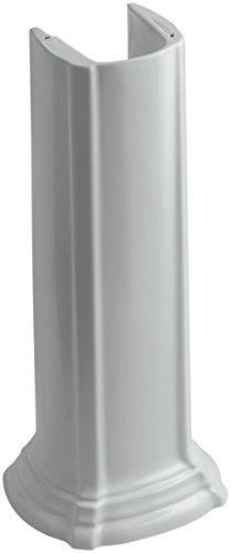 trait Bathroom Sink Pedestal, Ice Grey ()