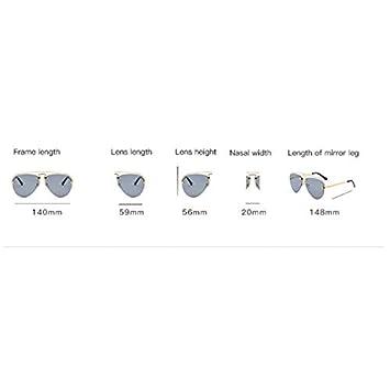 Tchin Gafas de Sol Unisex de Moda cómoda Personalidad ...