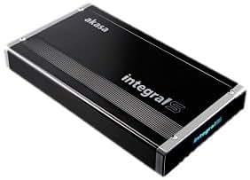 Akasa - Carcasa para disco duro Serial SATA de 8,9 cm (3,5 pulgadas) con USB 3.0, color negro