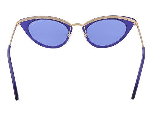 FT0349 SOL Gafas SOL Azul TOM de Ford XPXTAx6wqF
