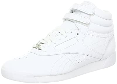 Reebok Womens Freestyle Hi Lace-up Fashion Sneaker