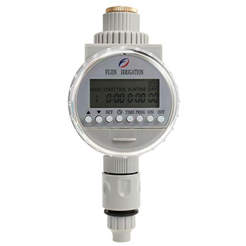 TOOGOO Garden Watering Solar Water Timer Automatic Watering Irrigation Controllers System Lcd Digital Irrigation Timer