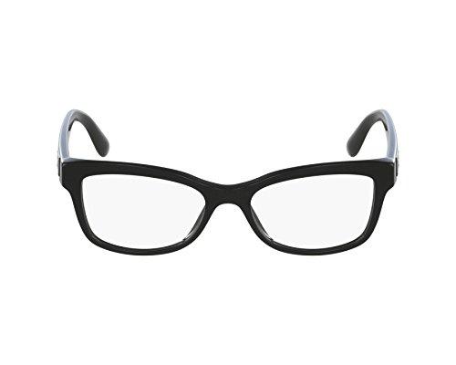 Dolce&Gabbana DG3254 Eyeglass Frames 501-52 - Black DG3254-501-52