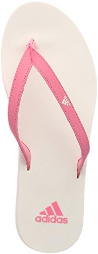 factory authentic 318b7 1ab56 adidas Damen Eezay Essence Dusch- Badeschuhe Pink (Chalk Pink S18chalk  White
