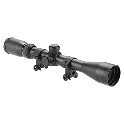 Pinty Pro 4-12X40 Mil-dot Tactical Rifle Scope Optics Optical Scope for Hunting w/Aircraft-grade Aluminum Alloy Tube, Waterproof/Fog Proof