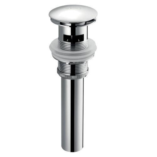VIGO Bathroom Pop Up Drain Stopper with Overflow, Chrome