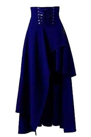 bf4a002050 Imagen no disponible. Imagen no disponible del. Color  Fanvans Mujeres  Lolita Faldas Alta Cintura Irregular Gótico ...