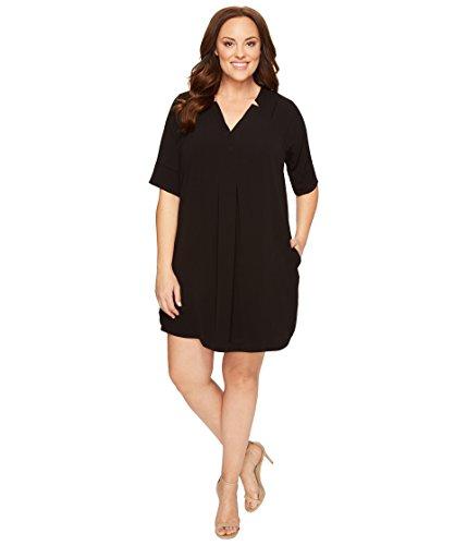 去る万歳車[ボビュー] B Collection by Bobeau Curvy レディース Plus Size Loren Shirtdress ドレス [並行輸入品]