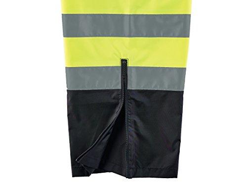 Ergodyne GloWear 8915BK ANSI Black Bottom High Visibility Lime Safety Rain Pants, 2XL by Ergodyne (Image #2)