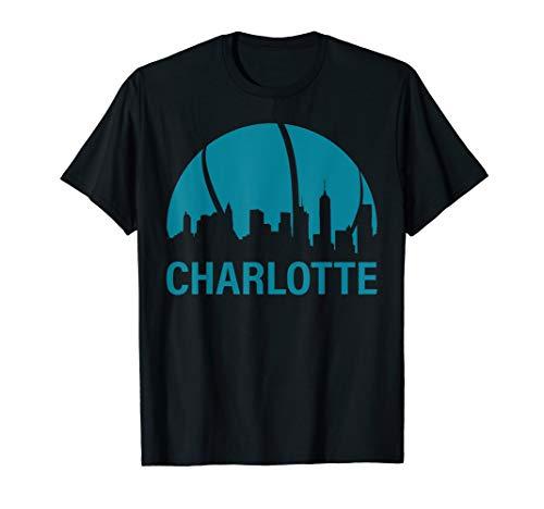 Charlotte Basketball B-Ball City North Carolina State Gifts  T-Shirt (Charlotte, North Carolina, Fashion)