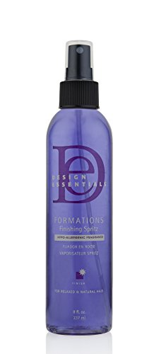 Design Essentials Formations Finishing Spritz, Hypoallergenic Formula for Volume, Shaping and Textured Styling-8oz.