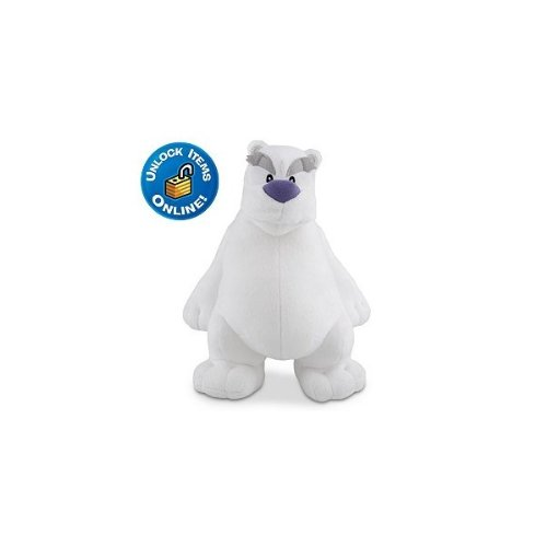 Disney Club Penguin 6.5 Inch Series 10 Plush Figure Herbert P. Bear Includes Coin with Code! (Club Penguin Plush Toys)