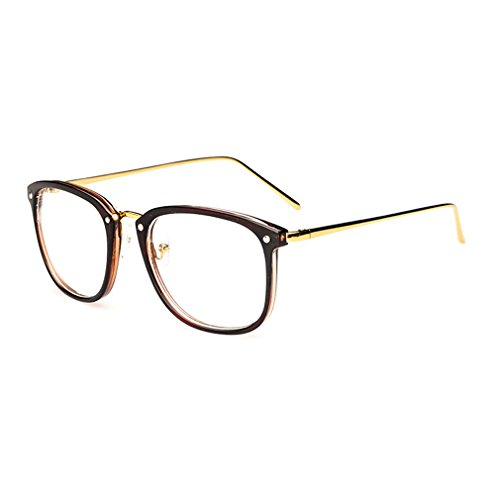 LOMOL Girls Retro Lovely Personality Student Style Transparent Lens Big Frame - Non Find To Where Prescription Glasses