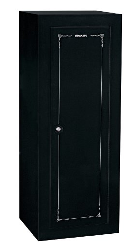 - Stack-On GCB-18C Steel 18-Gun Convertible Steel Security Cabinet, Black