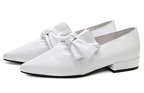 white YTTY 40 YTTY Pointed Pointed white Pointed Shoes YTTY Shoes 40 CwT6wAZq