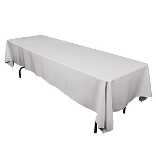 LinenTablecloth 60 x 126-Inch Rectangular Polyester Tablecloth