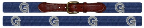 Smathers & Branson Georgetown Collegiate Needlepoint Belt-SZ 42(B-Georgetown-42) Bulldog Needlepoint