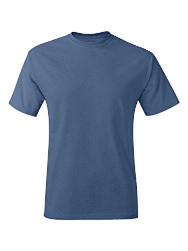 Hanes TAGLESS® T-Shirt, Denim Blue, (6xl 6x T-shirt)