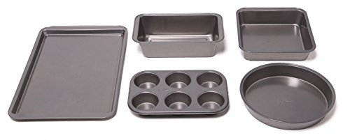 mrs-fields-5-piece-baking-essential-set-cookie-sheet-square-cake-round-cake-6-cup-muffin-and-bread-l