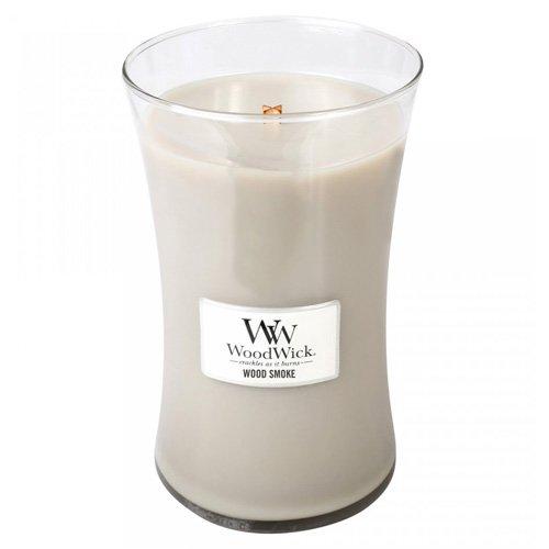 WOOD SMOKE - WoodWick 21.5 oz Large Jar Candle by Woodwick Candle