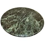 Round Green Marble Cheese and Pastry Board - 12 Inch Diameter