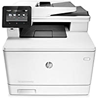 HP Laserjet Pro M477fnw Multifunction Wireless Color Laser Printer with Built-in Ethernet (CF377A) (Certified Refurbished)
