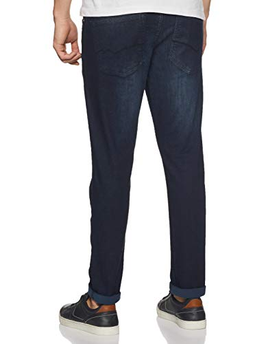 Numero Uno Men's Skinny Fit Jeans 2021 July Care Instructions: Machine Wash Fit Type: Skinny Color: 1glass H2o