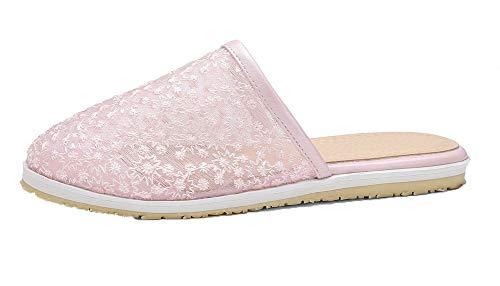 assortiti Aalardom Heel Colori Dress Pink Women Tsmlh007162 Mini Sandals wqCBP