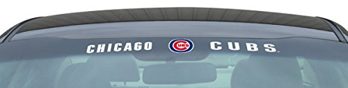 Team ProMark MLB Chicago Cubs Windshield Decal, One Size, One (Mlb Team Decal)