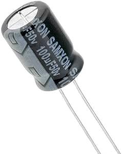 مكثف 100 ميكروفاراد 50 فولت 10 قطع