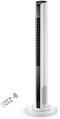 Ventilador sin aspas Ventilador de circulación de Aire Limpio silencioso Vertical Ventilador de la Torre de enfriamiento del Piso con Control Remoto Oficina en casa - 43 Pulgadas: Amazon.es: Hogar
